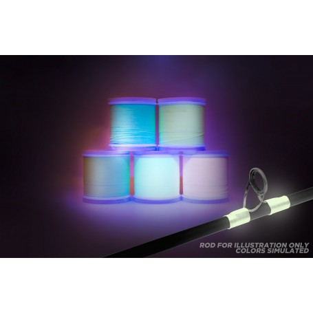 ProWrap Glo-Wrap Thread Glow Blue