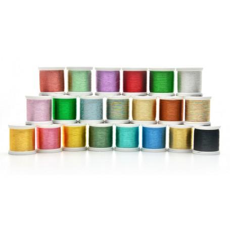 ProWrap ProFX Premium Metallic Thread A,100M, Spring Green