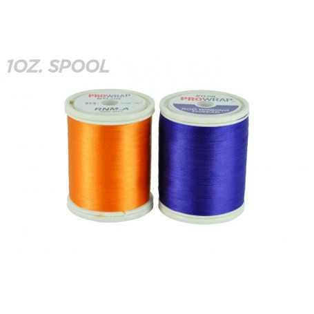 ProWrap Nylon Thread Black, D,450yds