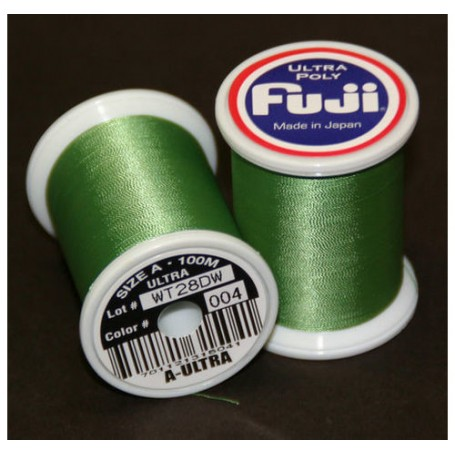 Fuji MEDIUM GREEN  Nylon U.POLY A 100m