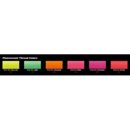 JustAce NCP Fluorescent Orange Size C 100M
